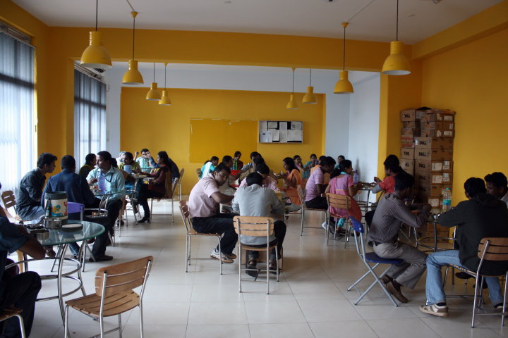 Mindfire Solutions Cafeteria