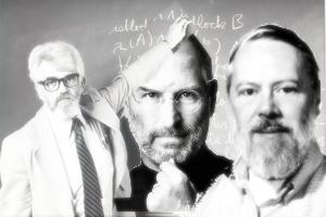 McCarthy,Steve Jobs, Dennis Ritchie