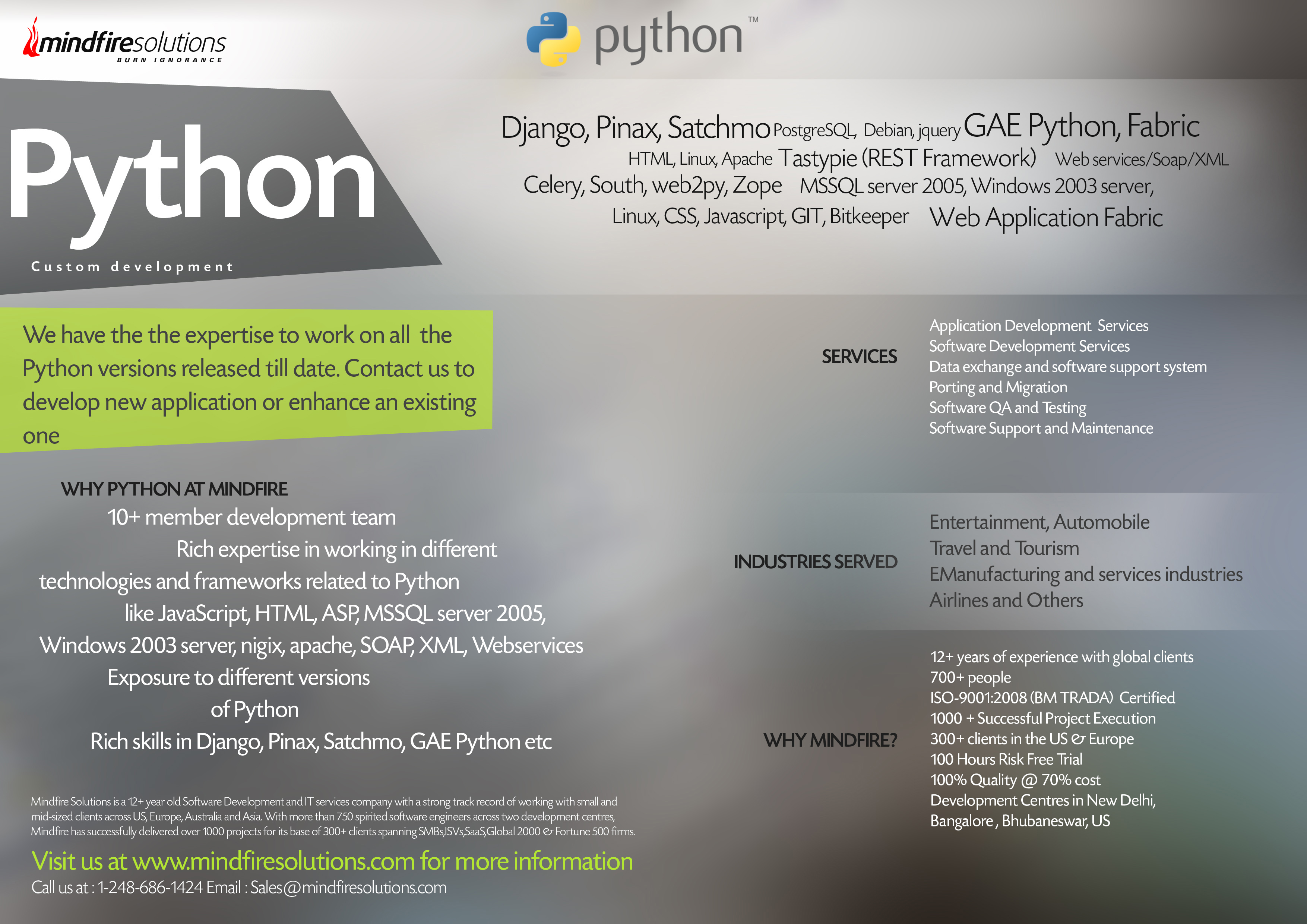 how to develop a software in python