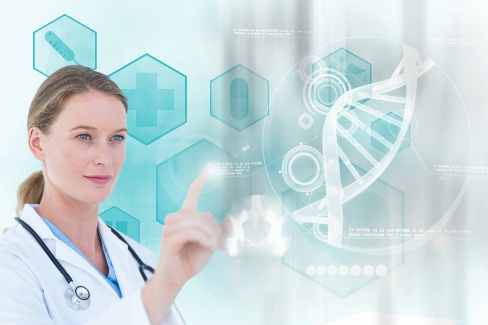 concentrated-doctor-working-with-virtual-screen