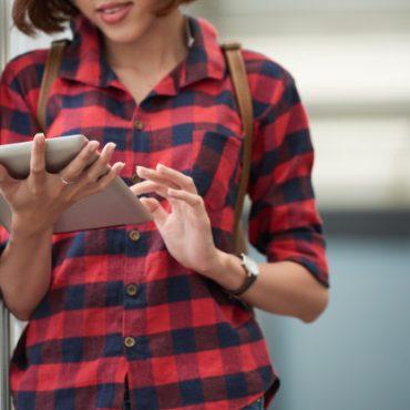 Flash E-book app for smart phones