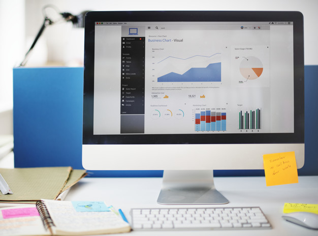 Graph Growth Success Strategy Marketing Computer Concept