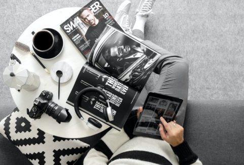 Windows Phone Tablet App for Magazine Reading
