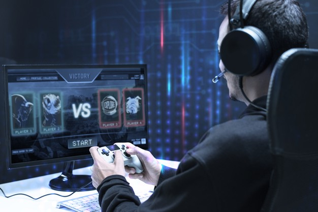professional-esport-gamer-playing-game-tournament_53876-96330