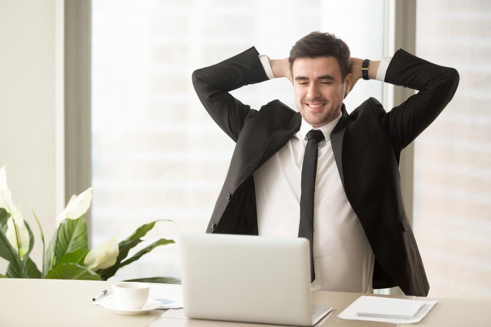 relaxed-employee-enjoying-result-good-job-done